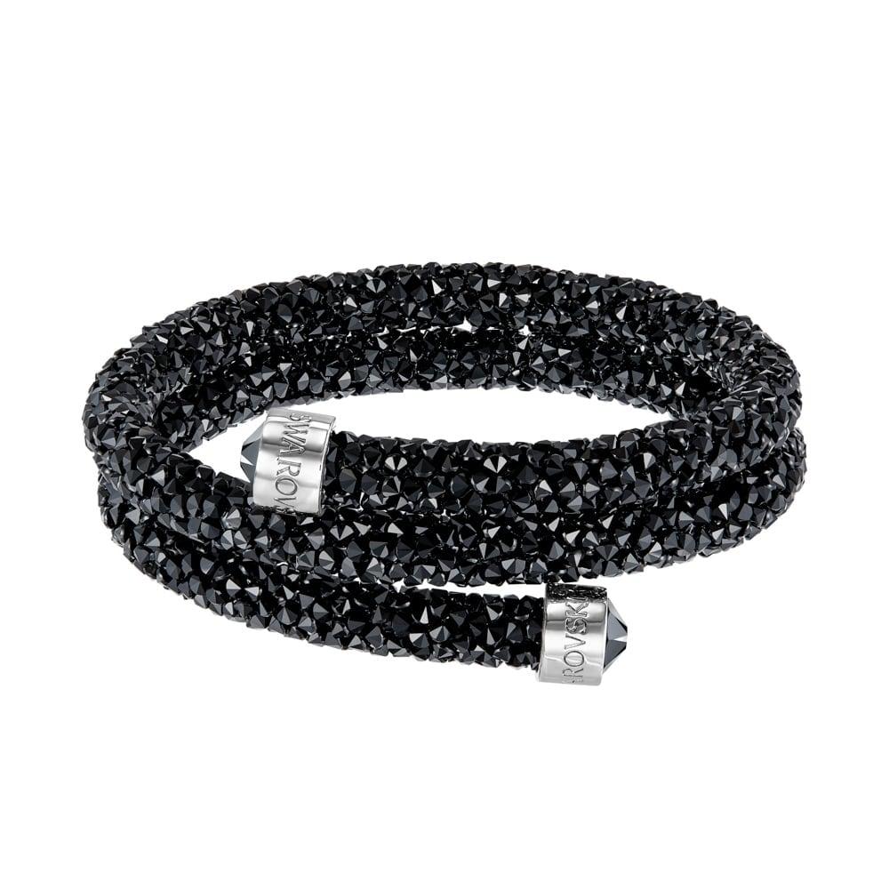 540f1e06f530 Swarovski Crystaldust Double Black Bracelet 5255910 Hadleigh ...